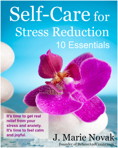 self-care for stress reduction cover
