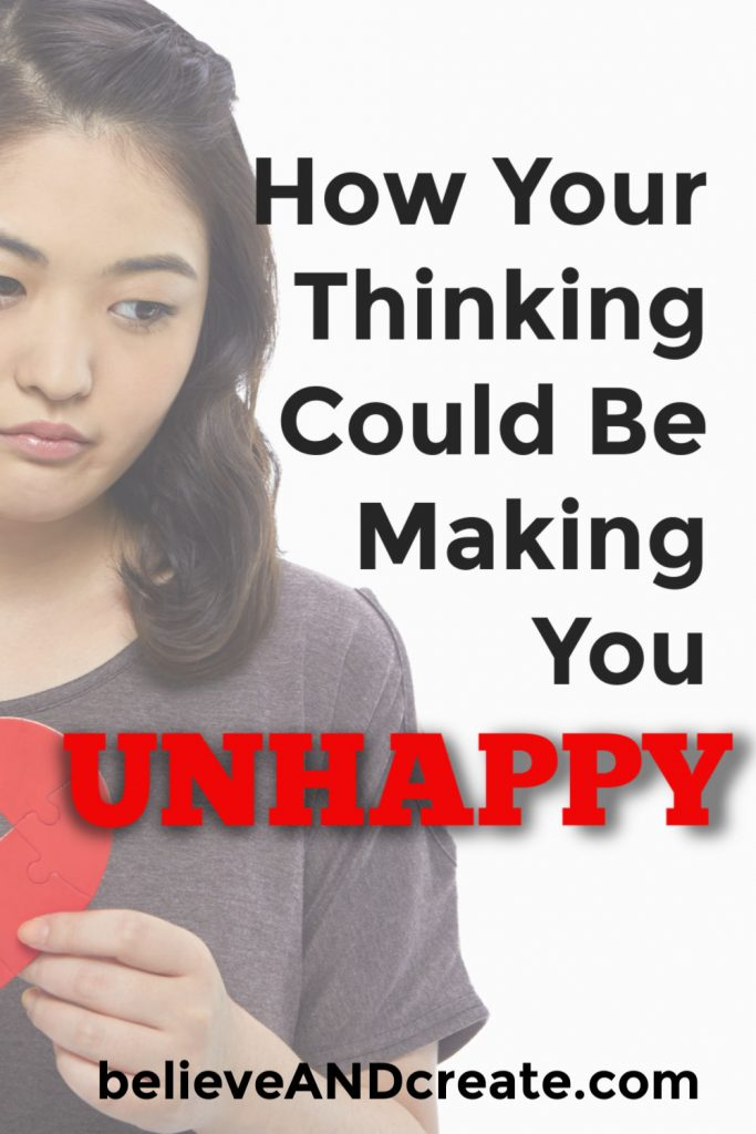 how your thinking is making you unhappy