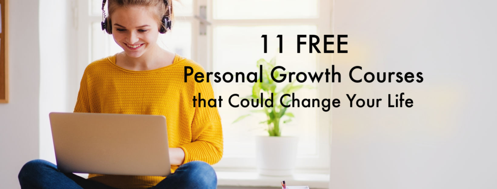 11 free personal development growth courses