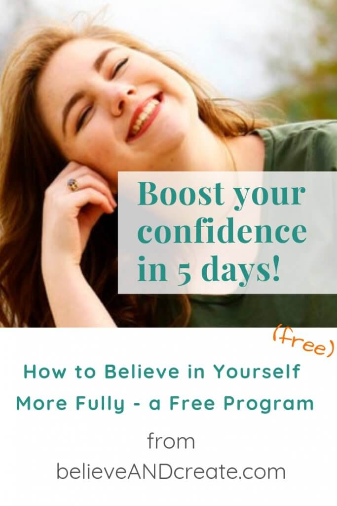 boost your confidence 5-day online course - free