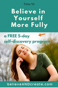 believe in yourself - confidence course 5-day free