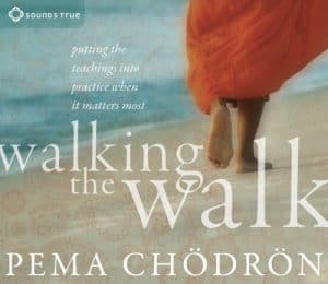 Walking the walk with Pema Chodron