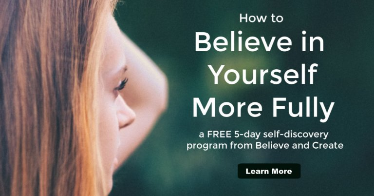 believe in yourself self-discovery confidence program
