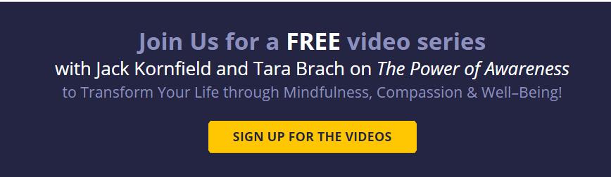 The Power of Awareness and Mindfulness Jack Kornfield and Tara brach