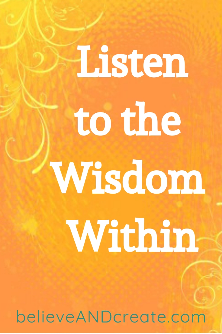 wisdom within short quote
