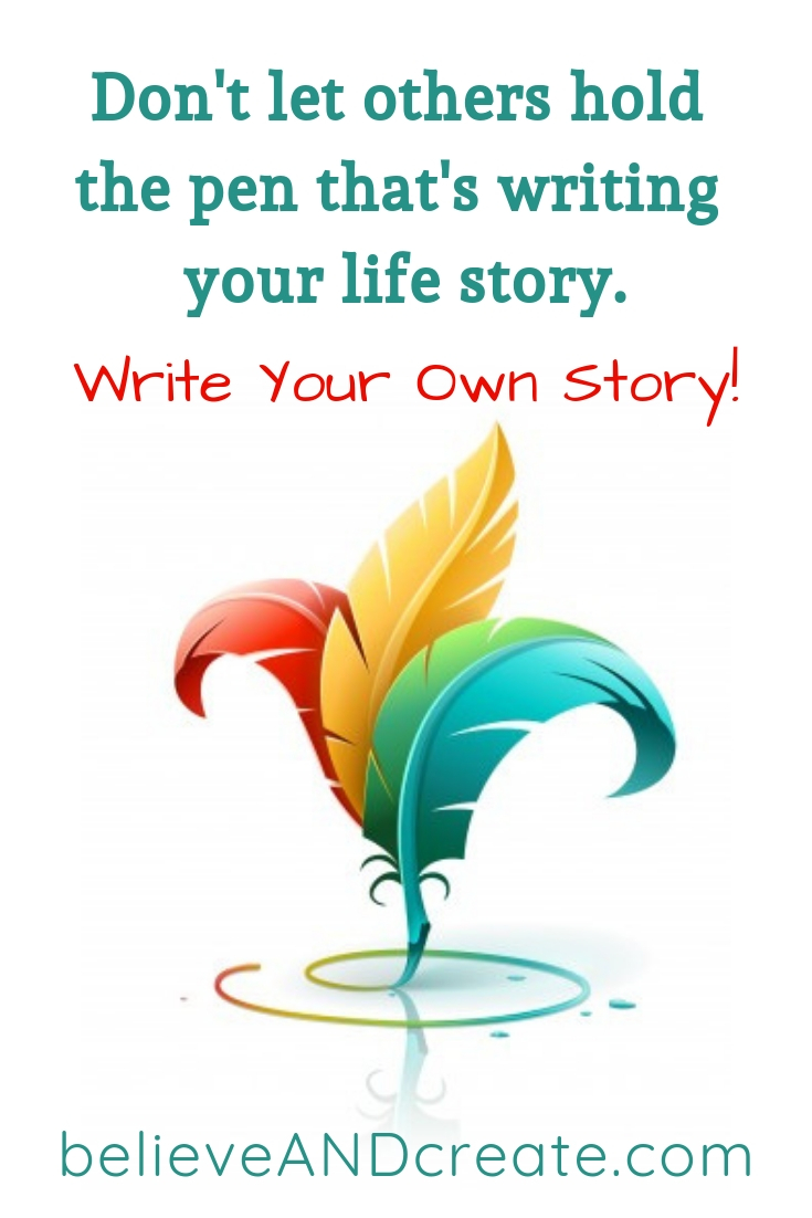 quote - write your own life story