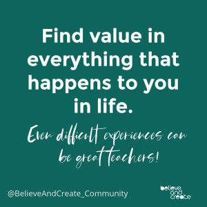 find value in life quote