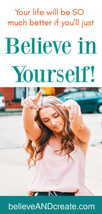 inspirational saying - believe in yourself