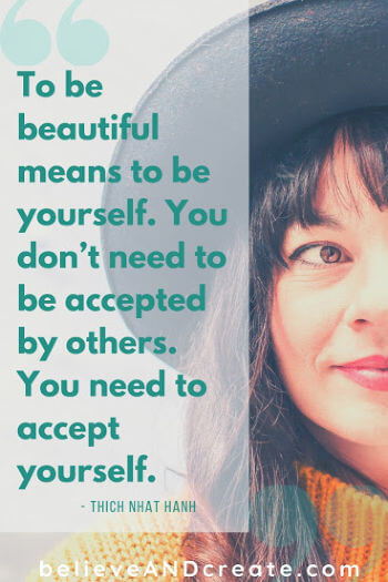 quote on being beautiful - inspirational quote
