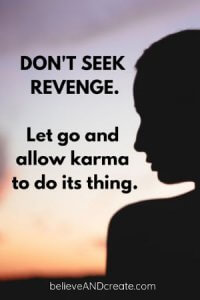 quote about revenge and karma