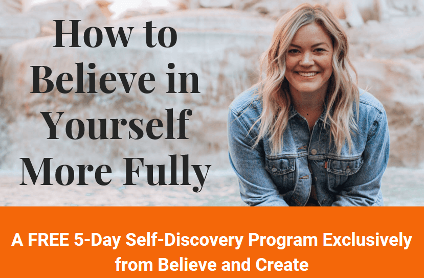 enroll in how to believe in yourself more fully to build your confidence