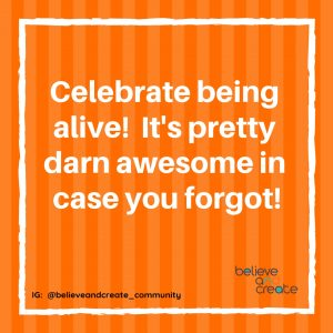 celebrate life quote