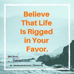 believe in life quote