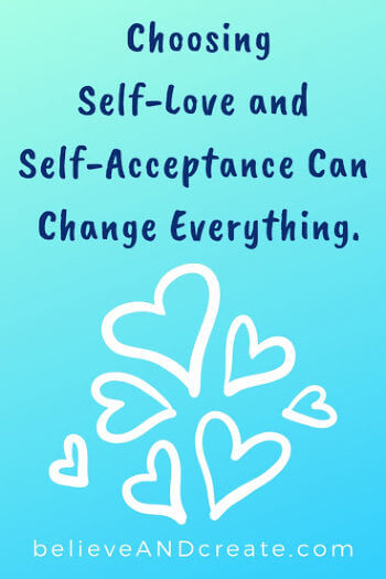 quote on choosing self-love and self-acceptance