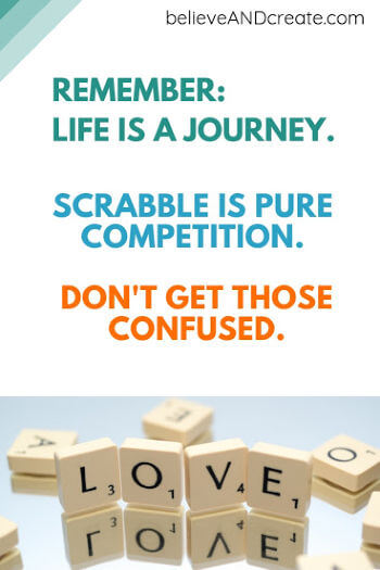 life is a journey not a competition inspirational saying