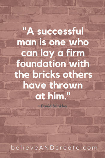inspirational saying - success in adversity