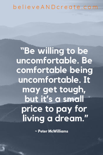 comfort zone quote - patience