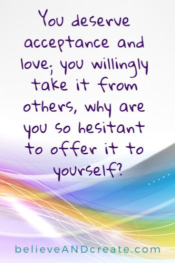 quote on love and acceptance