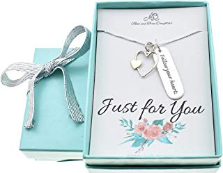 graduate gift - follow your heart necklace