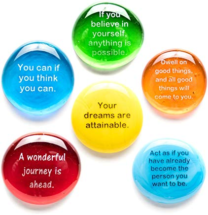 lifeforce glass destiny stones with motivational messages