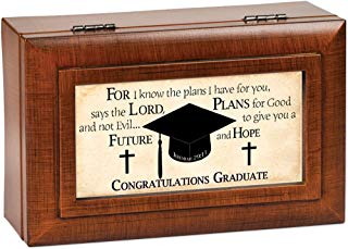 graduate keepsake box - Christian theme