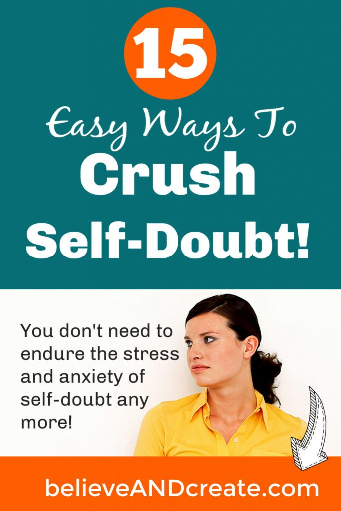 plagued by self-doubt - what to do when self-doubt starts creeping in
