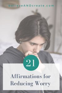Worry affirmations