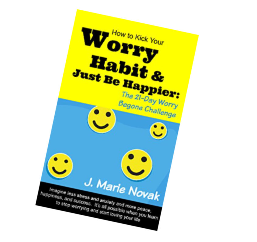 stop worrying and anxiety book