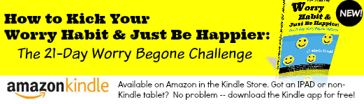 the best book on reducing worry and anxiety available at Amazon