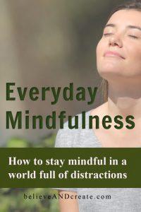 everyday mindfulness practice