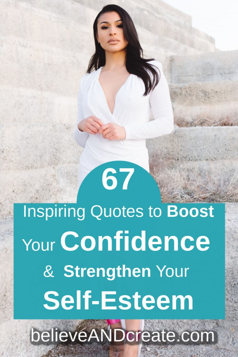 confidence and self-worth quotes