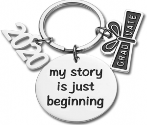 2020 graduate keychain my story is just beginning