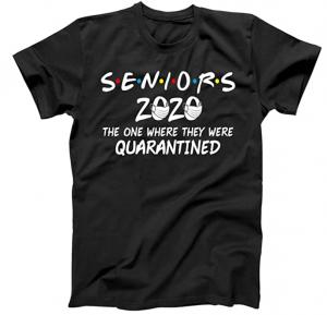 2020 graduate under quarantine