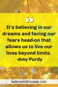 amy purdy quote on facing our fears