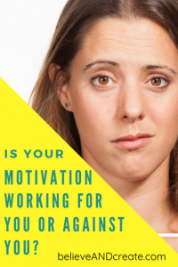 motivation working for you