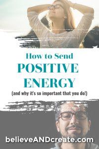 sending positive energy