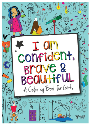 confidence for girls coloring book
