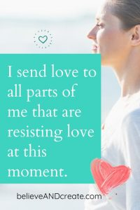 affirm loving myself is easy
