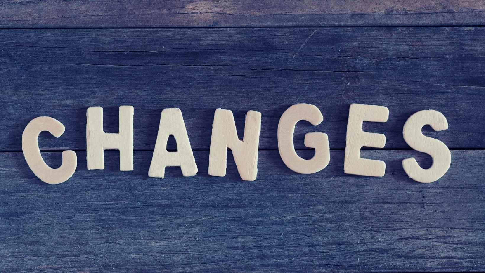 affirmation for change