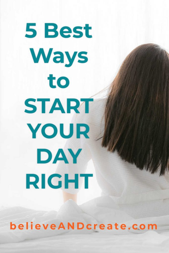 Image for pinterst - start your day right