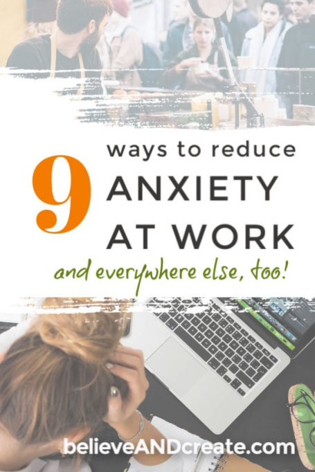 9 Ways to Control Anxiety at Work