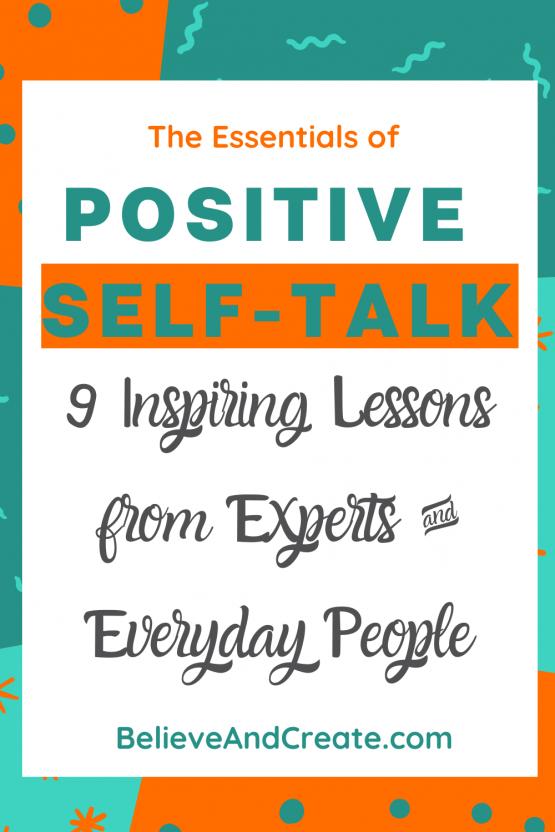 positive self talk pinterest pin