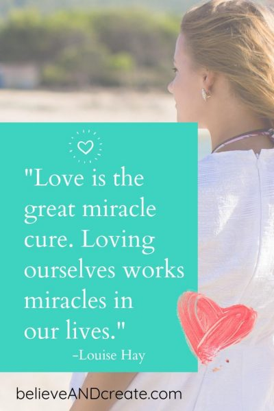 Love is the great miracle cure. Loving ourselves works miracles in our lives. - Louise Hay